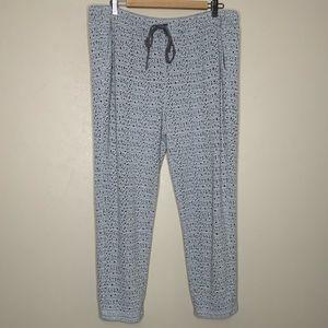 Lou & Grey Lounge Pants Gray Size Large
